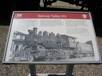 Rahway Valley #15 Marker Photo, Click for full size