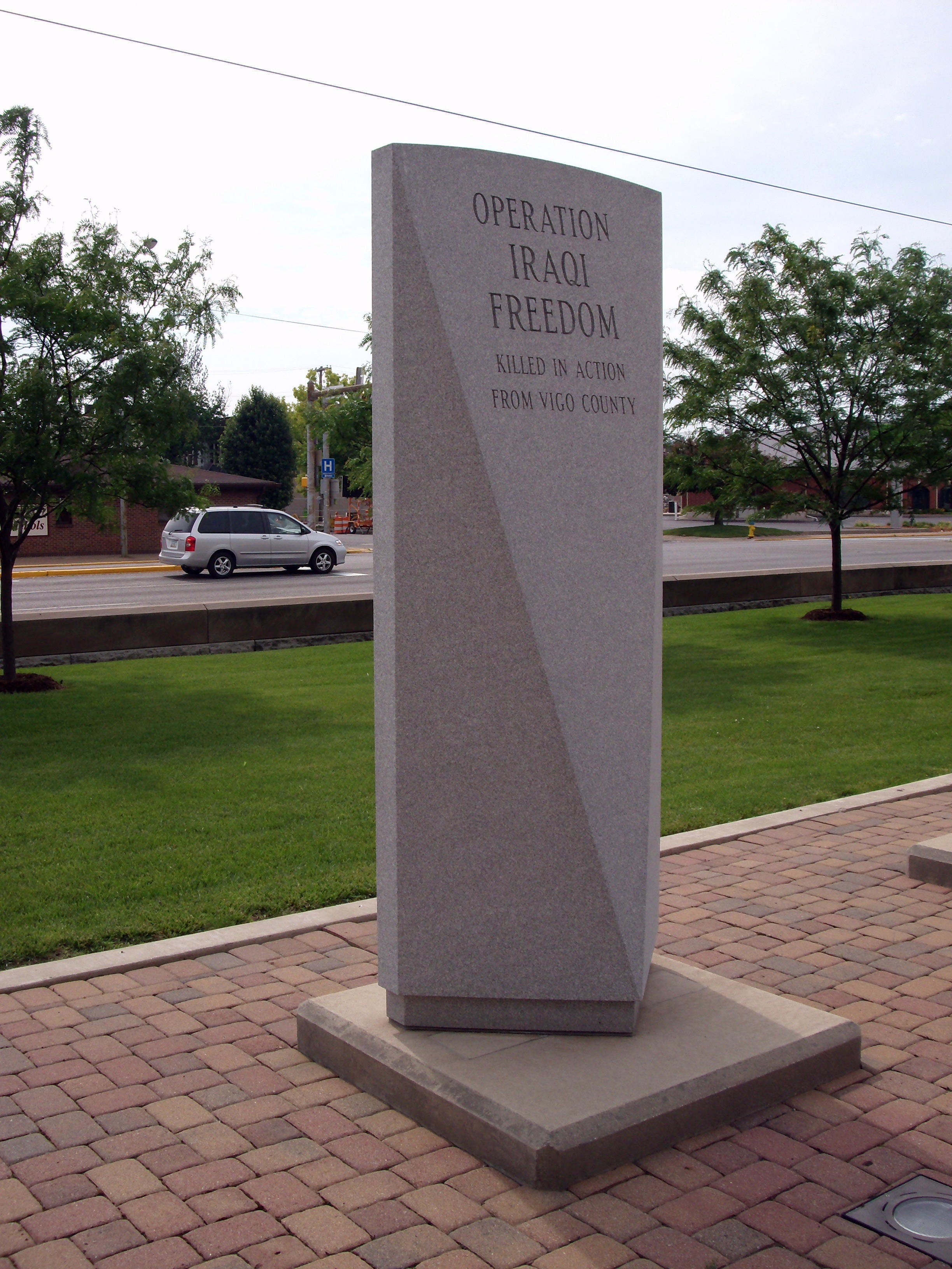 Other View - - Operation Iraqi Freedom - War Memorial