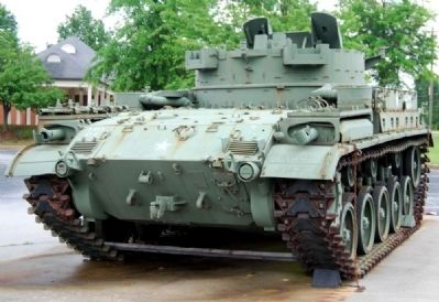 "M42A1 ""Duster"" - Rear image. Click for full size."