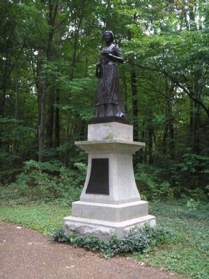 Turner Monument in Guilford Courthouse National Military Park Photo, Click for full size