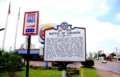 Battle of Lebanon Marker Photo, Click for full size