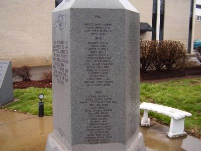 Haywood County World War II Monument Marker image. Click for full size.