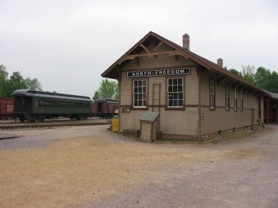 North Freedom Depot image. Click for full size.