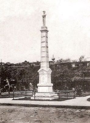 Anderson County Confederate Monument image. Click for full size.
