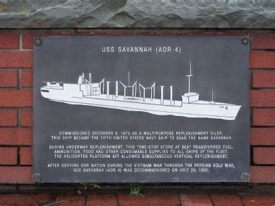 USS Savannah (AOR 4) image. Click for full size.