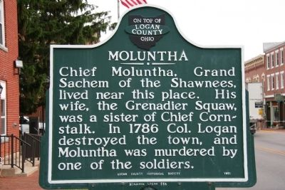 Moluntha Marker Photo, Click for full size