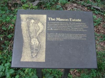 The Mason Estate Marker image. Click for full size.