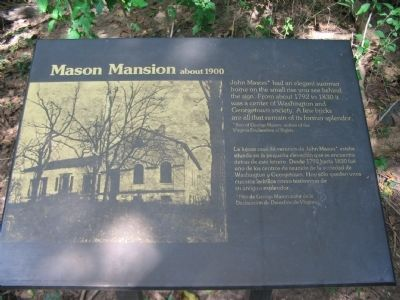 Mason Mansion about 1900 Marker Photo, Click for full size