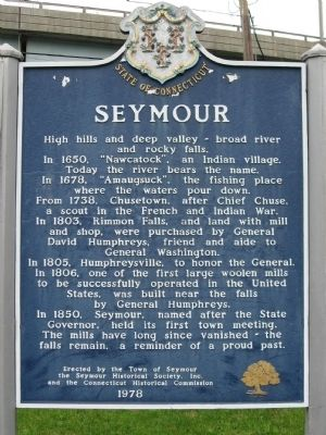 Seymour Marker image. Click for full size.