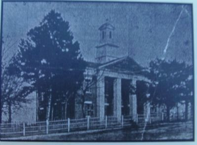 Polk County Courthouse 1920's image. Click for full size.