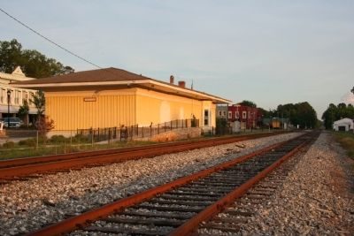 Adairsville, Georgia RR Depot image. Click for full size.