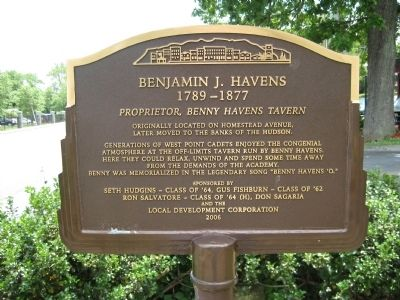Benjamin J. Havens Marker image. Click for full size.