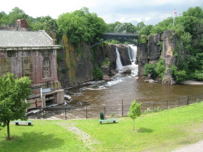 Passaic Falls image. Click for full size.