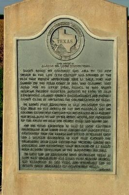 Near Routes of Alonso de Leon Expeditions Marker Photo, Click for full size