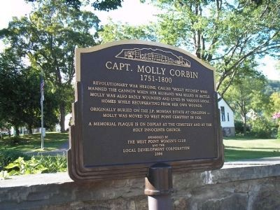 Capt. Molly Corbin Marker image. Click for full size.