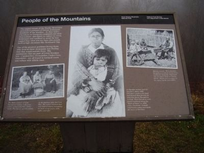People of the Mountains Marker image. Click for full size.