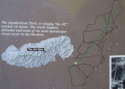 The Appalachian Trail Marker Photo, Click for full size