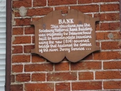 Solebury National Bank Marker Photo, Click for full size