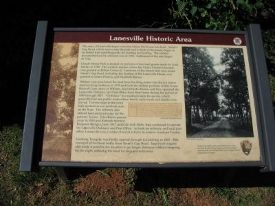 Lanesville Historic Area Marker Photo, Click for full size