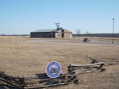 Battle of Mine Creek Marker Photo, Click for full size