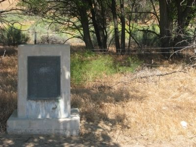 Don Pedro Fages Marker Photo, Click for full size