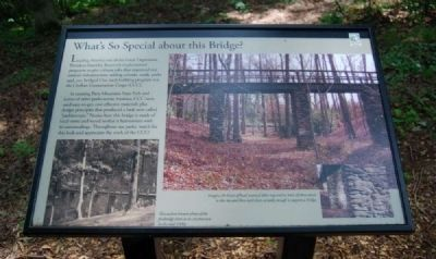 What's So Special About this Bridge? Marker image. Click for full size.