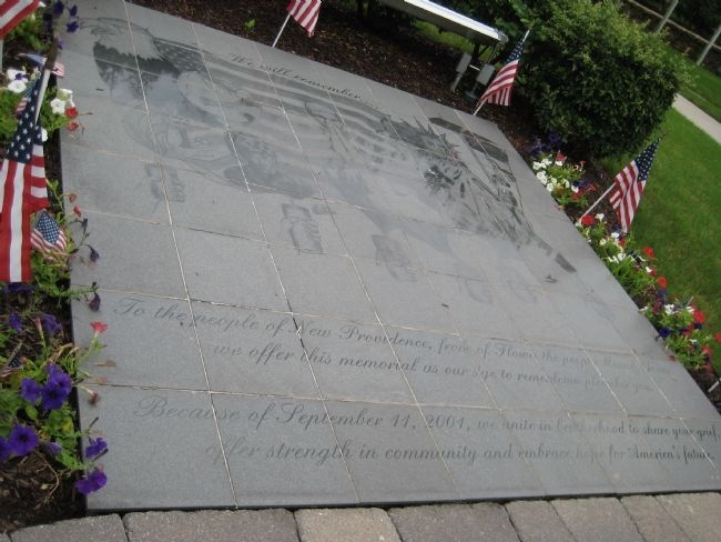New Providence 9-11 Memorial image. Click for full size.