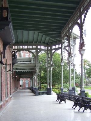 Tampa Bay Hotel porch area image. Click for full size.