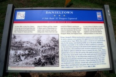Danieltown CWT Marker image. Click for full size.