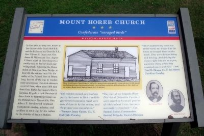 Mount Horeb Church CWT Marker image. Click for full size.