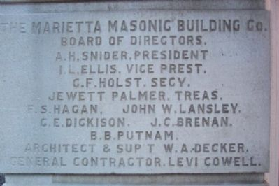 Masonic Temple Building Information image. Click for full size.