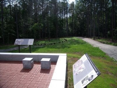Fort Christanna: Established 1714 Marker Photo, Click for full size