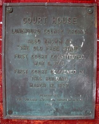 Court House Marker image. Click for full size.