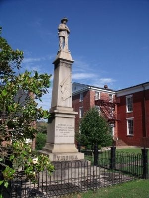 Brunswick County Confederate Monument image. Click for full size.