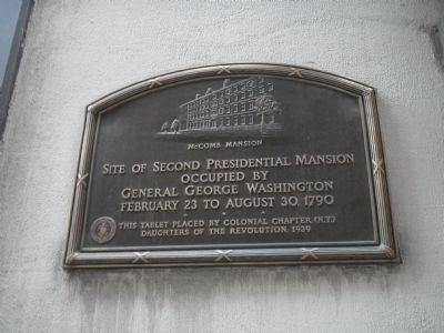 McComb Mansion Marker Photo, Click for full size