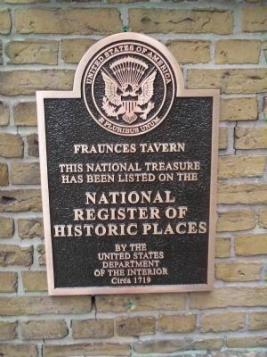 New Fraunces Tavern Marker image. Click for full size.
