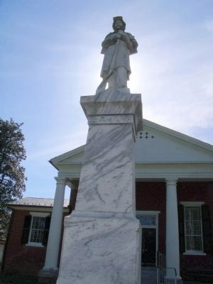 Confederate Monument (east face). image. Click for full size.