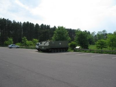 M59 Armored Personnel Carrier and Marker image. Click for full size.