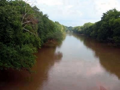 Roanoke River (known locally as Staunton River). image. Click for full size.
