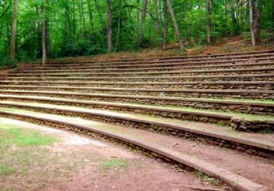 Paris Mountain State Park -<br>Amphitheater image. Click for full size.