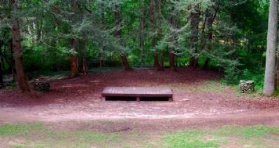 Paris Mountain State Park -<br>Amphitheater State image. Click for full size.