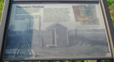 Norman's Station Marker image. Click for full size.