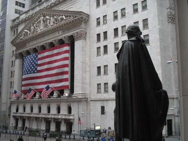 New York Stock Exchange Photo, Click for full size