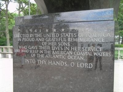 East Coast Memorial </b>(south side) image. Click for full size.