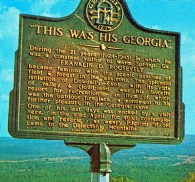 """This Was His Georgia"" Marker image. Click for full size."