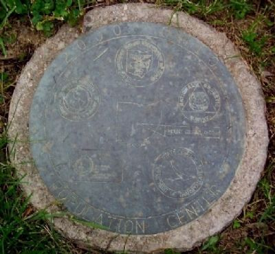 2000 Census Ohio Population Center Marker (in ground) Photo, Click for full size