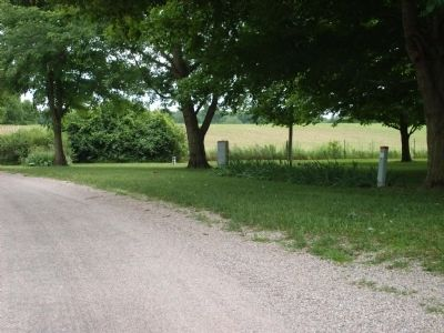 "Long View - - "" Union Mill "" - Wabash Township Marker image. Click for full size."