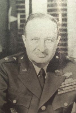 Photo of Major General Robert Sprague Beightler on Marker image. Click for full size.