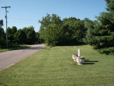 Looking South - - Lodi Mineral and Artesian Well Marker Photo, Click for full size