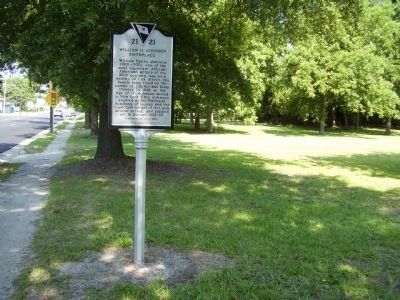 William H. Johnson Birthplace Marker image. Click for full size.